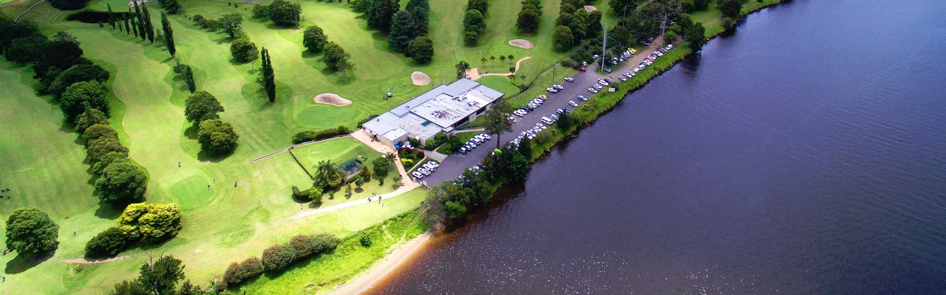 Nowra Golf Club Drone Photography