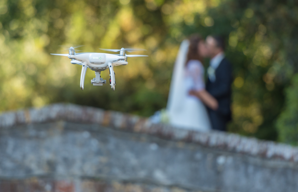 Drone Wedding Photography: Is It a Good Idea?