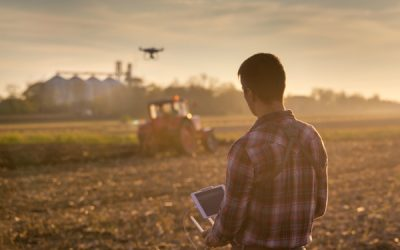 Drones in Agriculture: Drones Helping Farmers