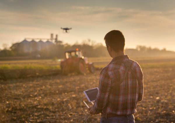 Drones Helping Farmers