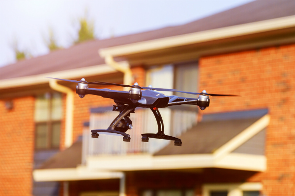 Home Surveillance Drones: Amazon Wins Patent