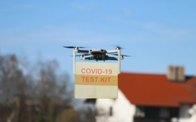 Drones Join The Fight Against COVID-19